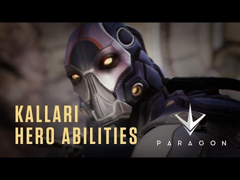 Paragon – 3rd-Person MOBA – Kallari Hero Abilities – HD Gameplay Trailer