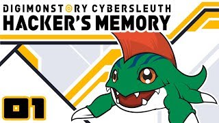 Let's Play Digimon Story: Cyber Sleuth Hacker's Memory - PS4 Gameplay Part 1 - Betamon I Choose You!