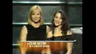 Eric McCormack wins 2001 Emmy Award for Lead Actor in a Comedy Series