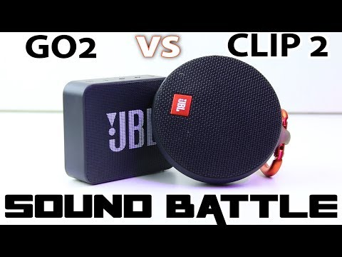 JBL GO2 Vs JBL CLIP2 :Sound Battle -The Real Sound Comparison