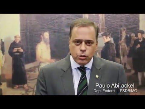 Deputado federal Paulo Abi-Ackel: Argumentos da defesa da presidente Dilma não convenceram