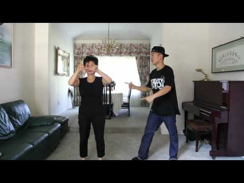 Gangnam Style Mom Dance