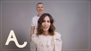 Alexa Chung - Signature Waves Hair Tutorial