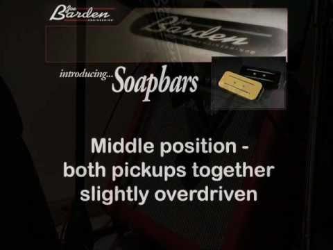 JBE Soapbars (Joe Barden Soapbar Guitar Pickups) Demo
