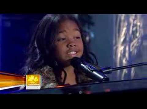 "Gabi Wilson on the Today Show ""No One"" Alicia Keys"