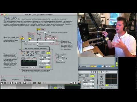Max 4 Live - Ableton Live mit Loudon Stearns