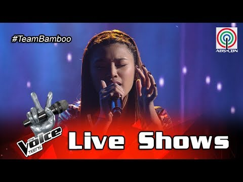 Video The Voice Teens Philippines Live Show: Queenie Ugdiman - Itanong Mo Sa Mga Bata download in MP3, 3GP, MP4, WEBM, AVI, FLV January 2017