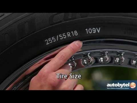 Understanding A Tire Sidewall