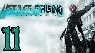 Metal Gear Rising Walkthrough - PT. 11 - File 04 - Hostile Takeover Part 3