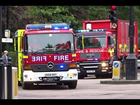 London Fire Brigade Responding - Major USAR Deployment