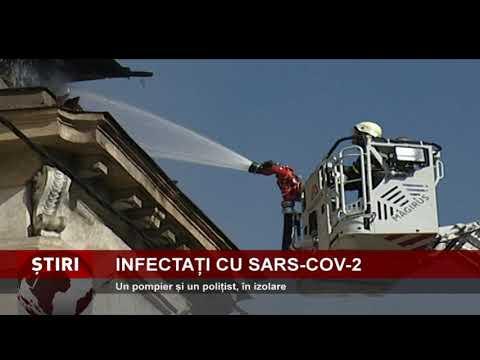 Noi infectări cu SARS-COV-2