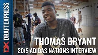 Thomas Bryant 2015 Adidas Nations Interview