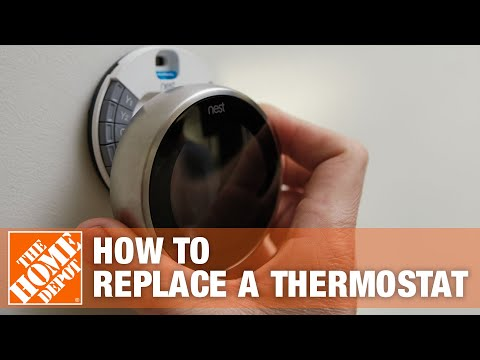 How-To Replace an Old Thermostat- The Home Depot