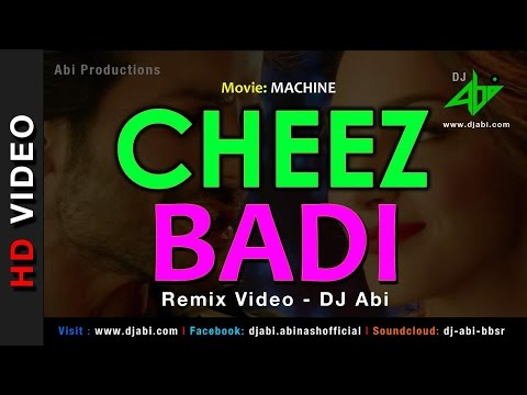 Cheez Badi Remix Video - DJ Abi - Machine