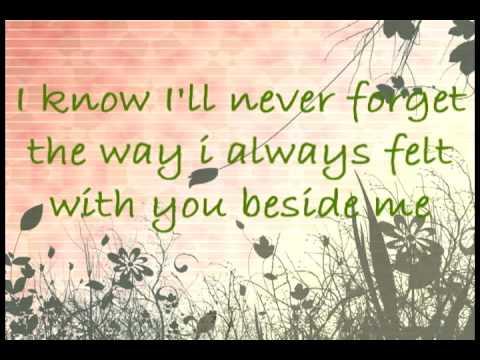 Never Be The Same lyrics RED