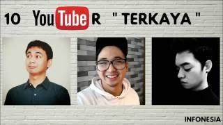 Video WOW ! Inilah 10 Youtuber Indonesia dengan Penghasilan ADSENSE TERBESAR (JUNI 2016) MP3, 3GP, MP4, WEBM, AVI, FLV Oktober 2017
