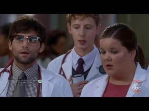 Greys Anatomy 14x01 14x02 Webber Meredith  the New Sub Interns Scenes   Funny Season 14 Episode 1