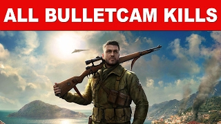 Sniper Elite 4 All X-Ray Bullet Kill Cam Slow Motion Montage KillsEnjoy all Sniper Elite 4 X-Ray Bullet Kill Cam Slow Motion Montage Kills Video. Don't forget to like the video and leave a comment. We really appreciate your feedback. Also, please click the subscribe button and help us grow bigger to create better quality content. Check out our videos here: https://www.youtube.com/user/gamefreakdudes/videosSniper Elite 4 Slow Motion MontageSniper Elite 4 Slow Motion KillsSniper Elite 4 Bullet Cam KillsSniper Elite 4 Bullet Cam MontageSniper Elite 4 KillCam KillsSniper Elite 4 KillCam Montage