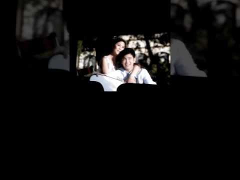 Kathniel kissing scene in barcelona movie.