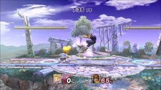 Press 1 if you feel sorry for Captain Falcon
