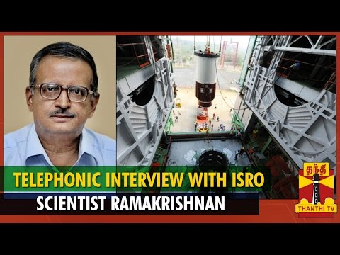Telephonic Interview With ISRO Scientist Ramakrishnan on  PSLV-C26 Launch    Thnathi TV