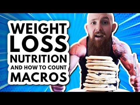 Weight Loss, Nutrition & How to Count Macros