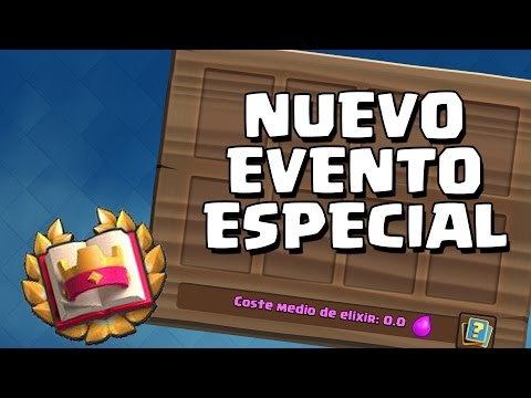 DESAFÍO CLASH ROYALE RETRO Nuevo evento especial   Sneak Peek   Clash Royale   Alvaro845 Vs WithZack