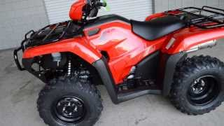 5. 2014 Foreman TRX500FM1E Manual / Foot Shift 4x4 ATV - Honda of Chattanooga TN GA AL ATV Dealer
