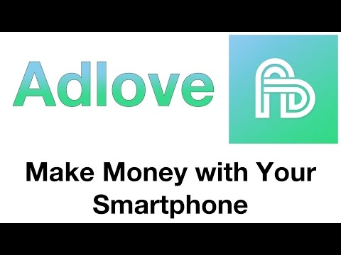 Adlove! - Make $1 a Day Watching Videos - Make Money with Your Smartphone