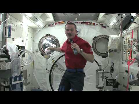 puke - How do you upchuck if there is no up or down? ISS commander Chris Hadfield explains what astronauts do if they have to vomit. READ THE STORY HERE - http://go...