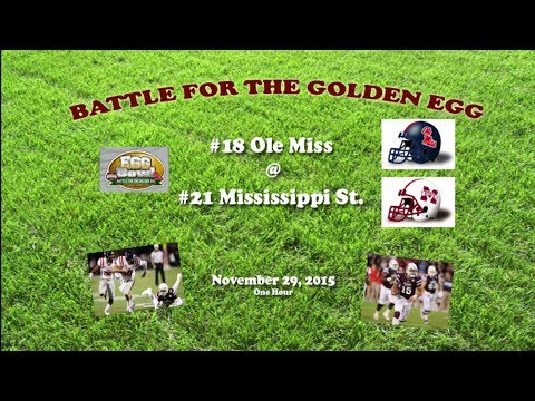 2015 Ole Miss @ Mississippi State One Hour