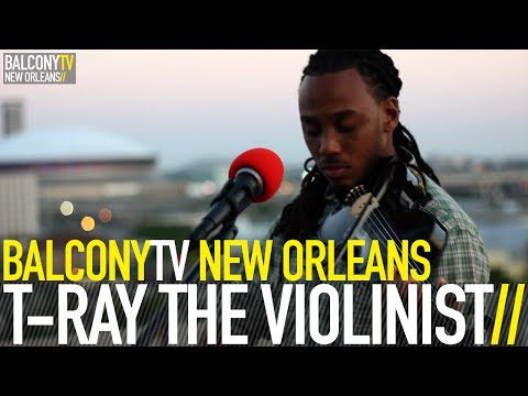T RAY THE VIOLINIST – OWN LANE (BalconyTV)