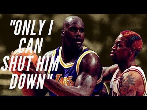 How Dennis Rodman kept Shaq at 0 Points - Master Mind