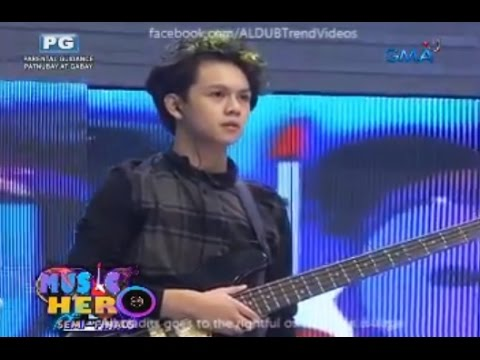 Eat Bulaga Music Hero August 13 2016 #aldublpultimatebattle