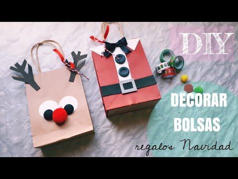 Uñas decoradas - Bolsas decoradas Navidad