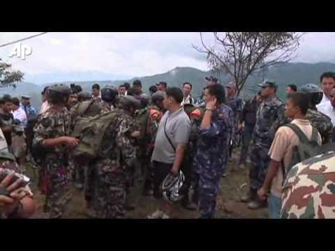Vliegtuig neergestort in Nepal