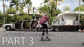 $500 Craigslist Car Challenge. ep 3. Selling the cars in Miami by Rob Dahm