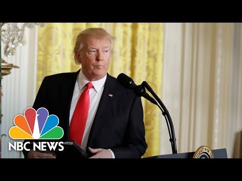 President Donald Trump And Australian PM Hold White House Press Conference NBC News
