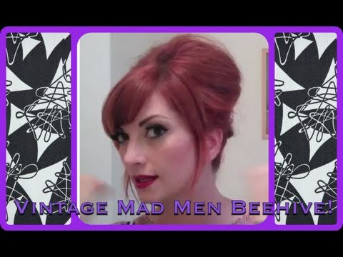 cherry dollface - This is the style I had in my last tattoo video. I hope you like it! More 1960's beehive styles are in the works... don't forget to subscribe for more! To bu...