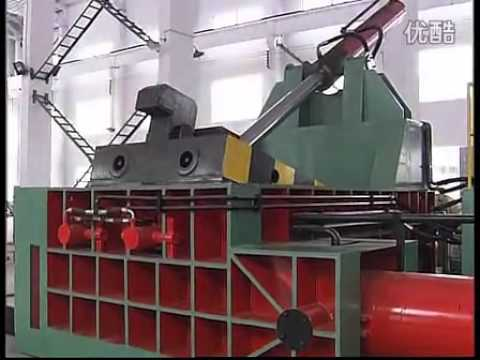 Recycling baler, bailers, scrap metal collection, recycling machinery