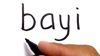 Download Video WOW, menggambar BAYI dengan kata bayi MP3 3GP MP4