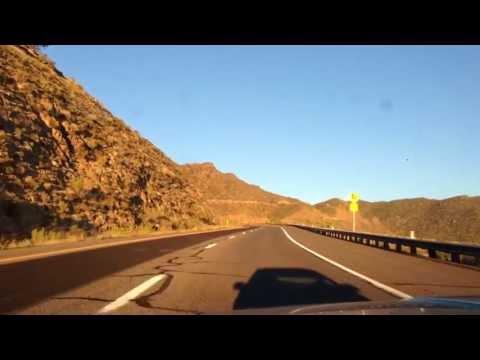 Trip to Yarnell Arizona, Scenic Mountain Drive Through Wickenburg and Congress AZ. (видео)