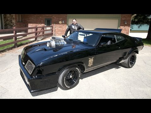 Man Builds Mad Max  s Interceptor Car In Real