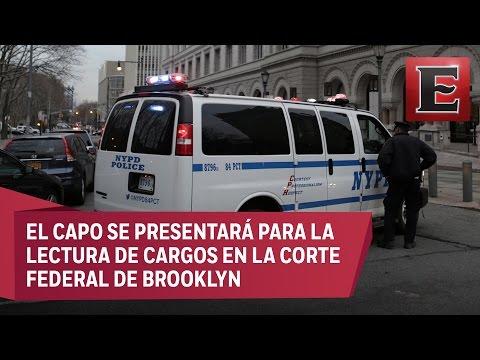 """""""El Chapo"""" Guzmán comparecerá ante corte de Nueva York"""