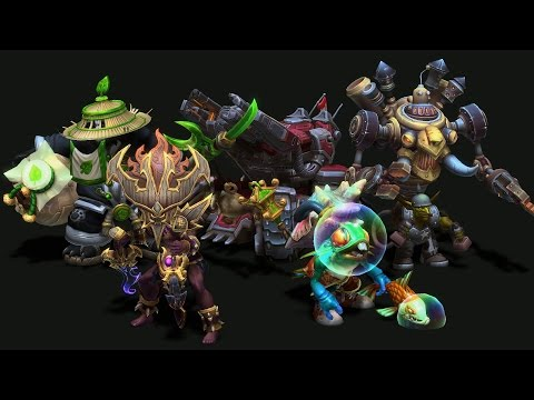 In Development: Master Skins for Nazeebo, Gazlowe, Sgt. Hammer, Chen, and Murky!
