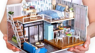 5 DIY Miniature Doll House Rooms