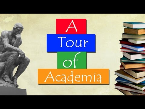 A Tour Around the Imaginary Country of Academia
