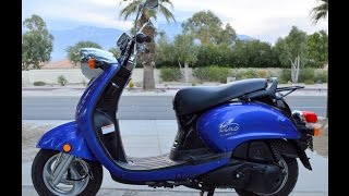 6. 2007 Yamaha Vino 125 YJ125 Scooter For Sale www.samscycle.net