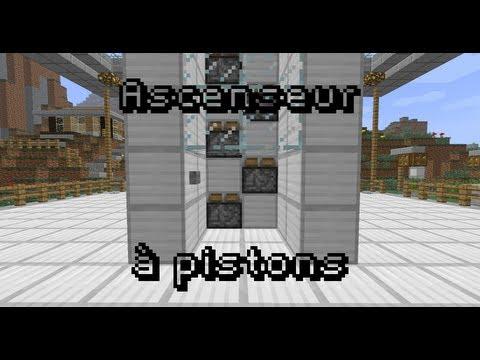 comment construire un ascenseur dans minecraft la r ponse est sur. Black Bedroom Furniture Sets. Home Design Ideas