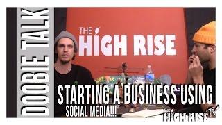 STARTING A BUSINESS USING SOCIAL MEDIA!!! by 2 Girls 1 Bong